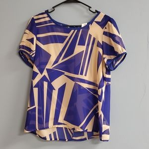 Anthropologie Sparrow Geometric Top